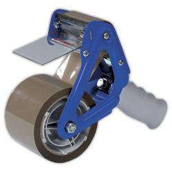 Odvinovač lepící pásky s brzdou