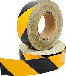 Reflexní páska DURAFLEX šrafovaná žlutočerná
