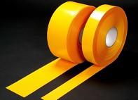 Páska na podlahy PermaStripe - žlutá