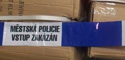 MĚSTSKÁ POLICIE - vstup zakázán