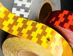 Reflexní páska na značení vozidel